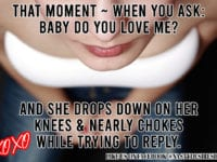 Adult Humor Meme When she drops to her knees and chokes on her reply | Nasty Desire Lingerie Magazine