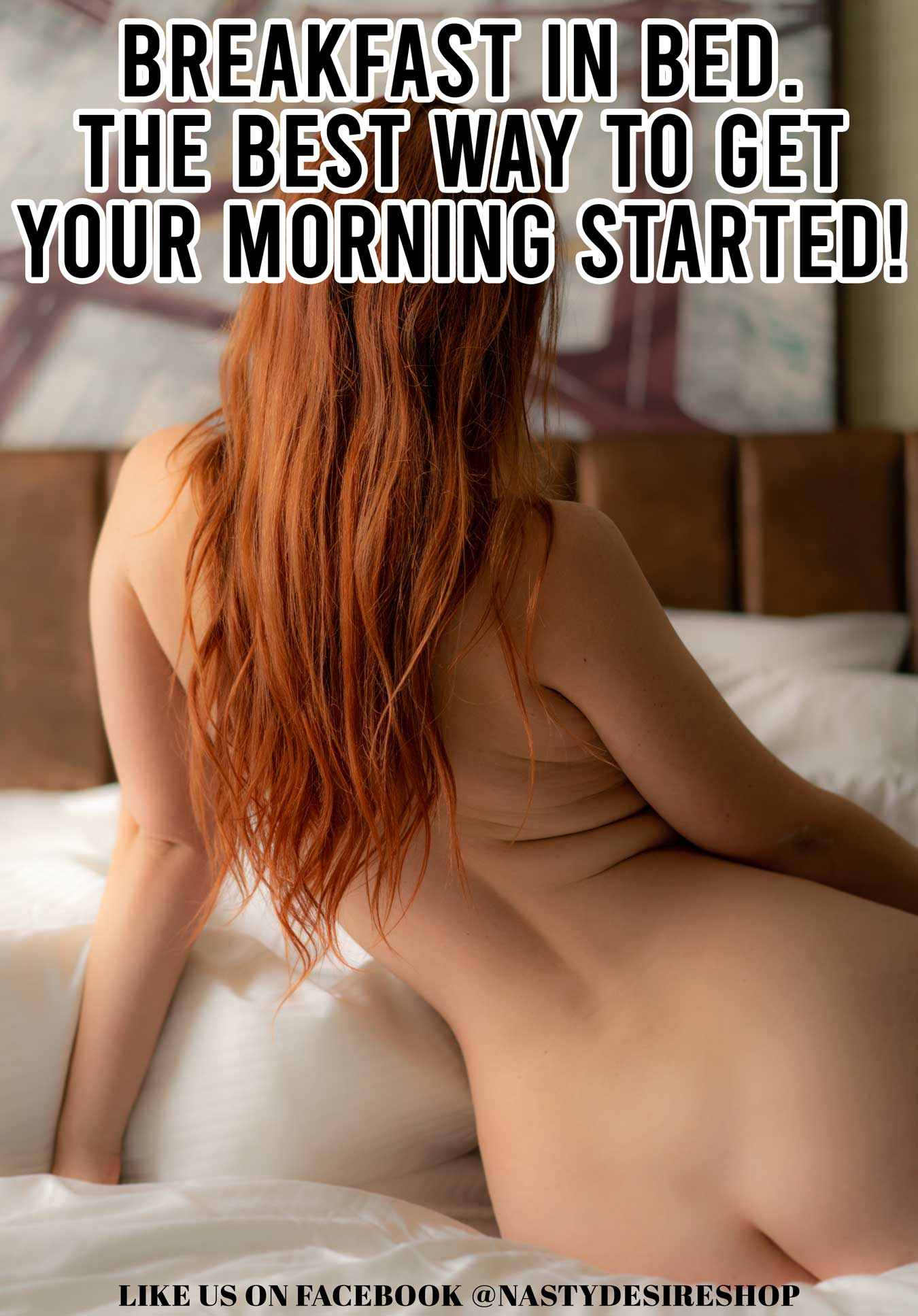Adult Meme: Breakfast in Bed The Best Way to Get Your Morning Started