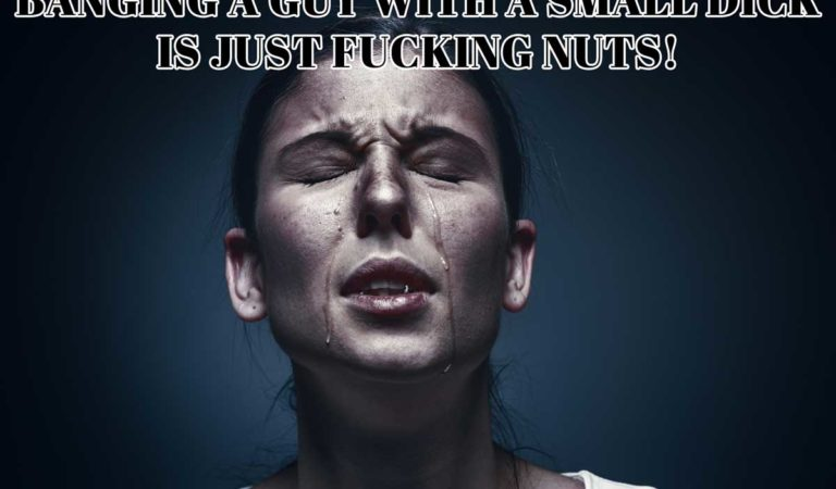 Adult Meme – Banging a Guy with a Small Dick