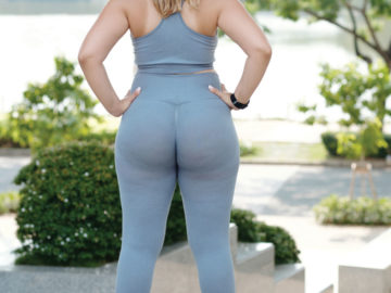 Plus Size Fit BBW Woman with Nice Tight Ass - Nasty Desire Magazine